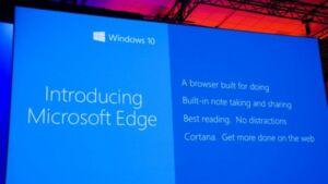 Τέλος για τον Internet explorer, Edge θα λέγετε ο διάδοχος του.