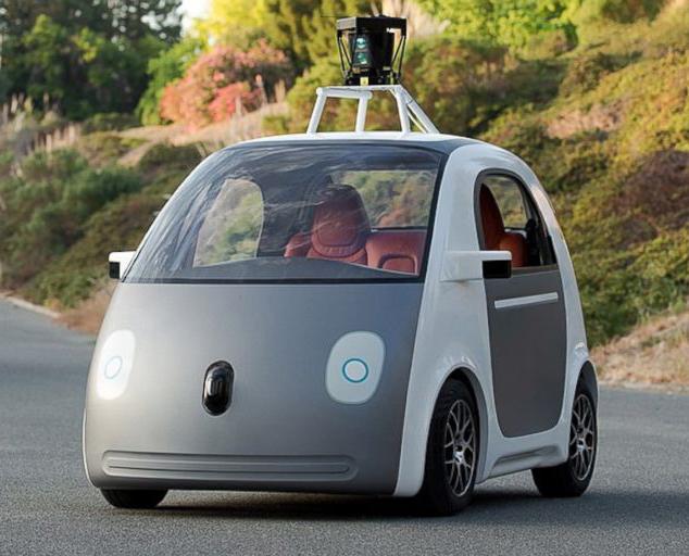 αυτοκίνητο της google