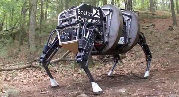 Το πρώτο σκύλο ρομπότ κατασκεύασε η εταιρεία Boston Dynamics
