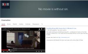 Τα καλύτερα κανάλια του Youtube για το 2015-CinemaSins