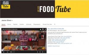Τα καλύτερα κανάλια του Youtube για το 2015-Jamie Oliver channel