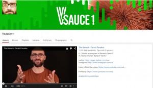 Τα καλύτερα κανάλια του Youtube για το 2015-Vsause channel