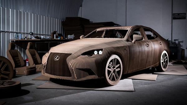 Lexus απο χαρτόνι