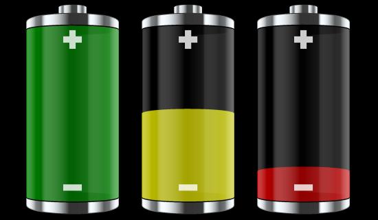 ώστε μεγαλύτερη διάρκεια μπαταρίας στις συσκευές σας.