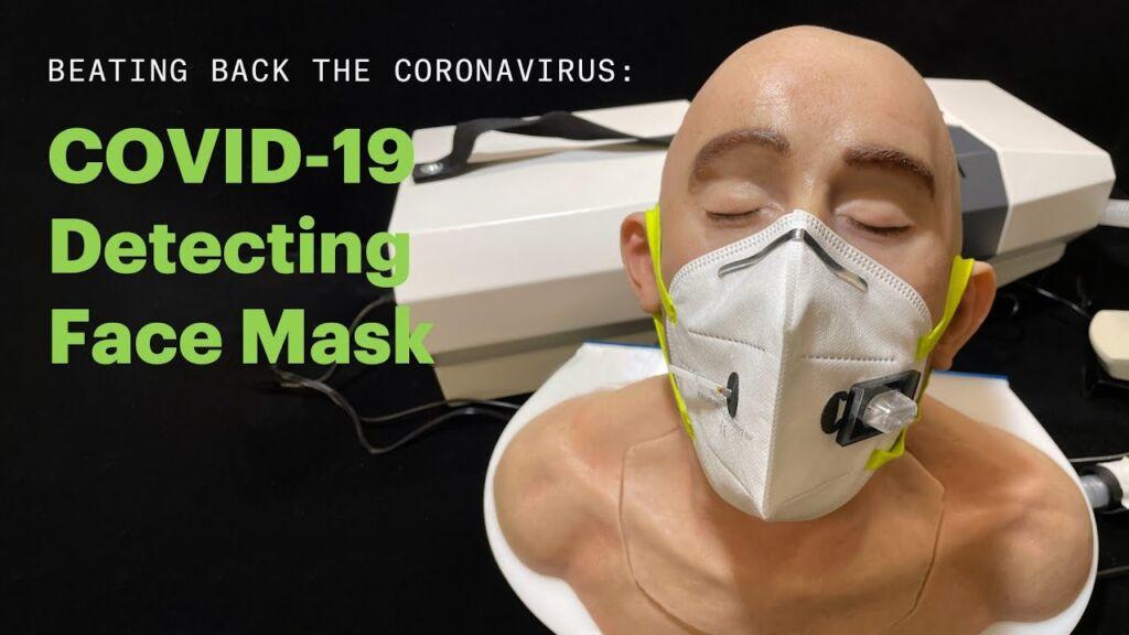 Μάσκα προσώπου κάνει διάγνωση COVID-19